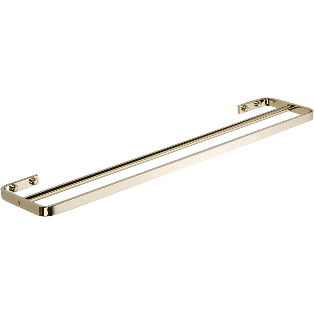 Atlas Solange Bath Towel Bar 24 Inch Double French Gold