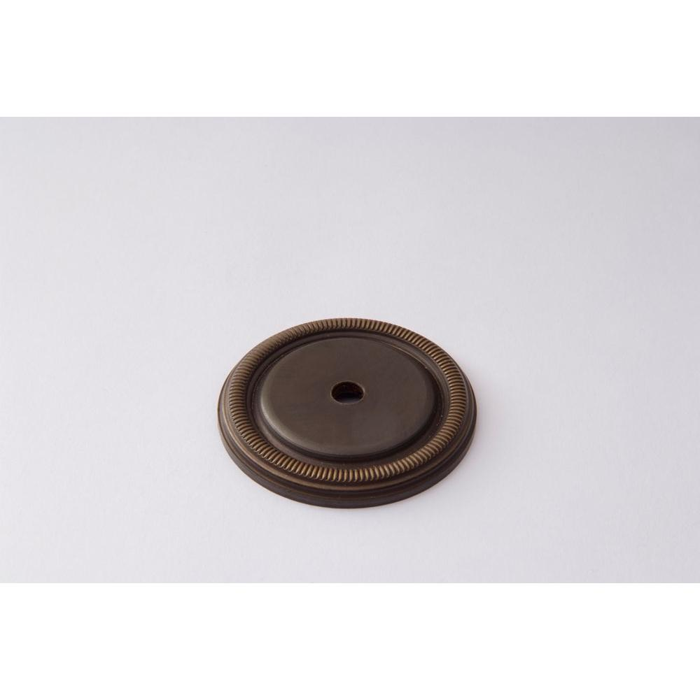 Classic Brass Backplate - 1-5/8'' COIN