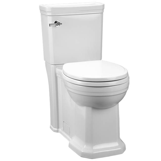DXV Fitzgerald 2 Pc Rf 1.28 Gpf Toilet - Cwh