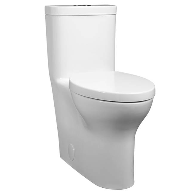 DXV Equility One Piece Rh El Df Toilet - Cwh