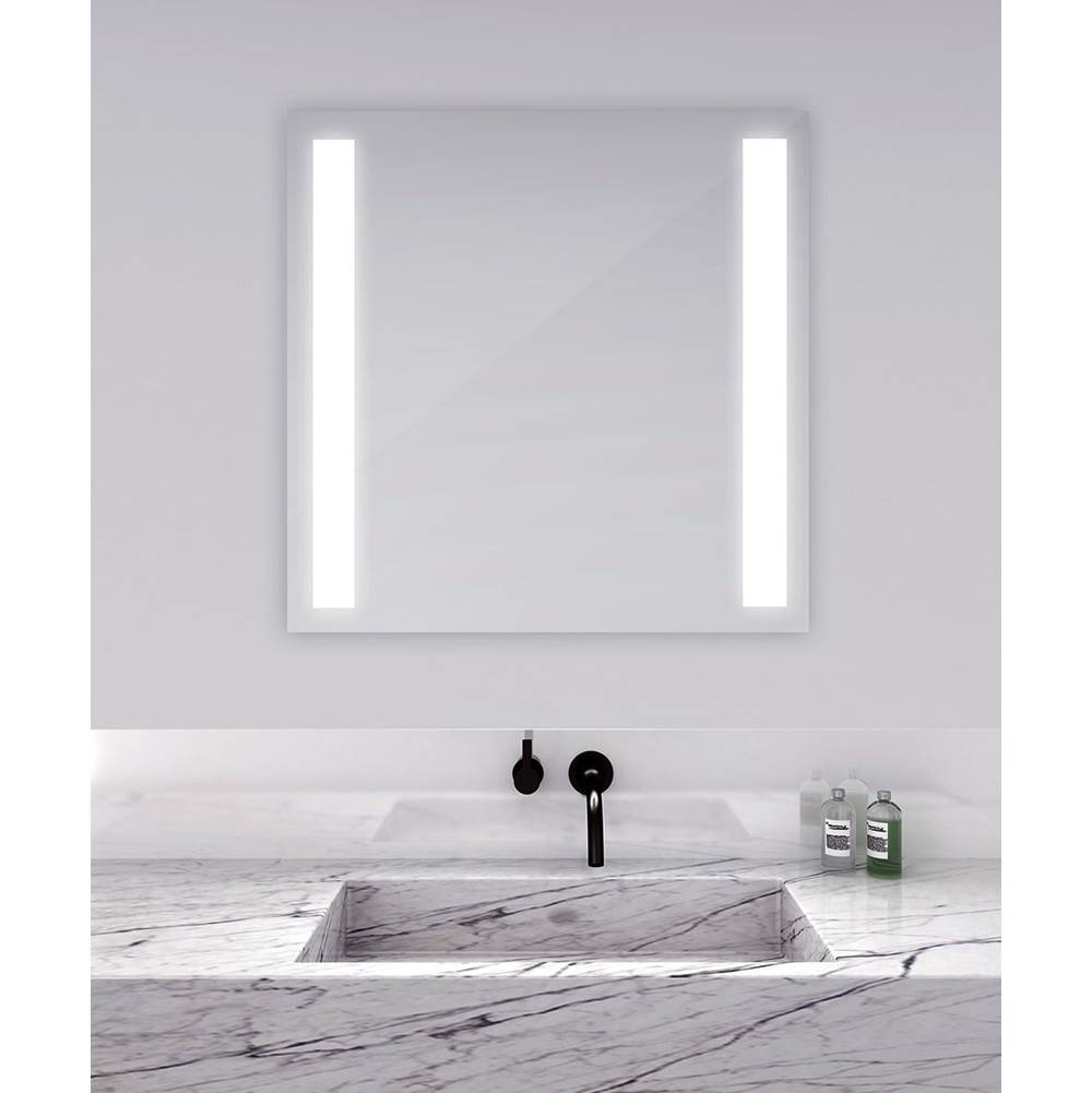 Electric Mirror Fusion 24w x 28h Lighted Mirror