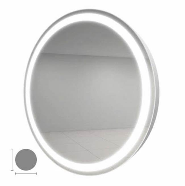 Electric Mirror Eternity 30'' Round Lighted Mirror