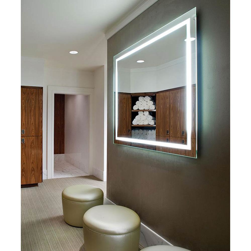 Electric Mirror Integrity 54w x 42h Lighted Mirror with Ava