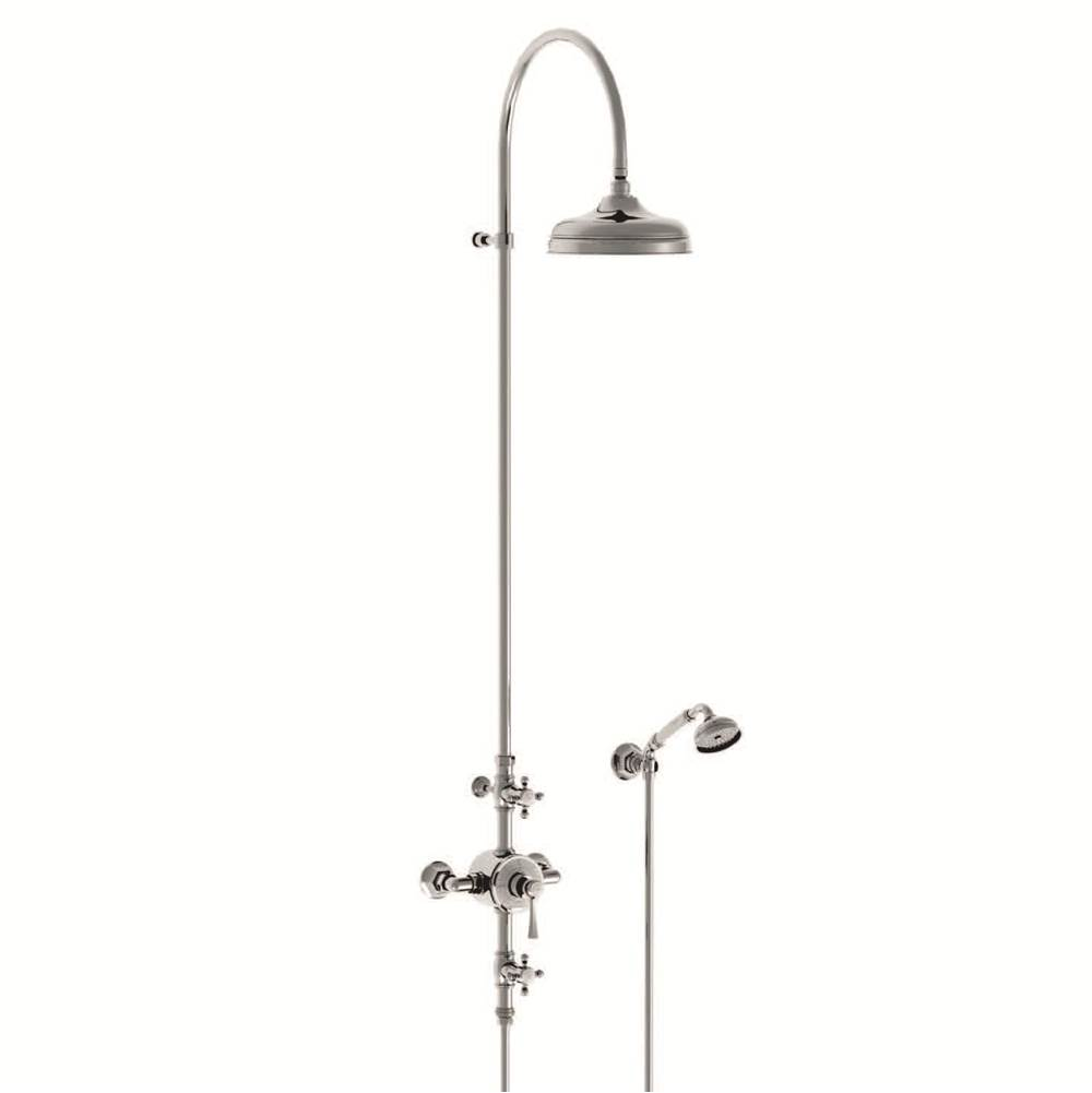 Horus HORUS ASCOTT EXPOSED THERMOSTATIC VALVE WITH 10'' HANDSHOWER, AS