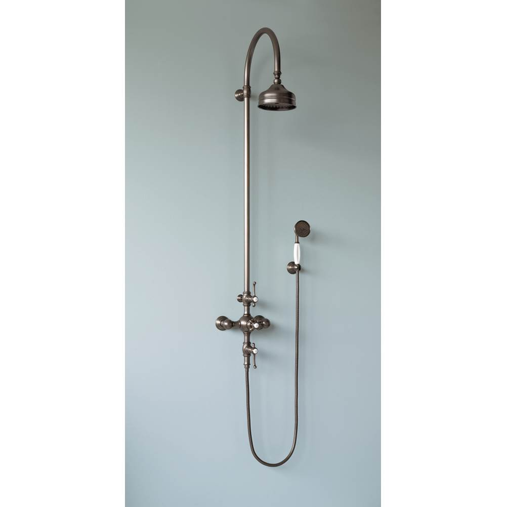 Horus HORUS MONTMARTRE EXPOSED THERMOSTATIC VALVE WITH HANDSHOWER SET & 10'' SHOWERHEAD, PS