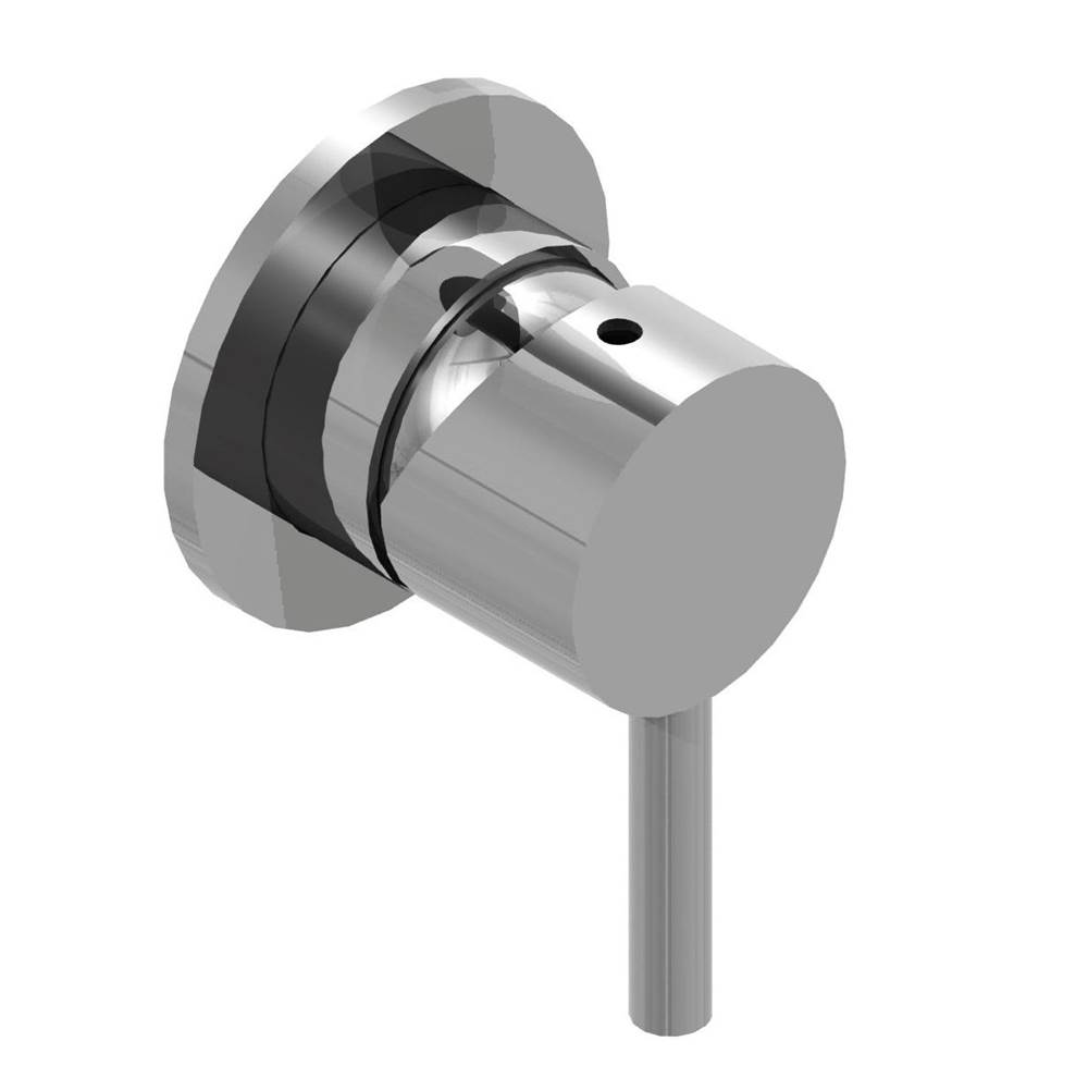 Outdoor Shower Concealed Hot & Cold Valve - Lever Handle - Satin