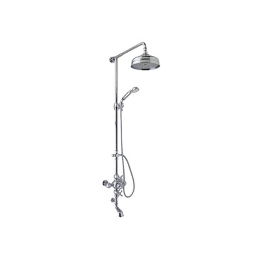 Rohl Rohl Cisal Exposed Thermostatic Shower And Bath Tub System Complete