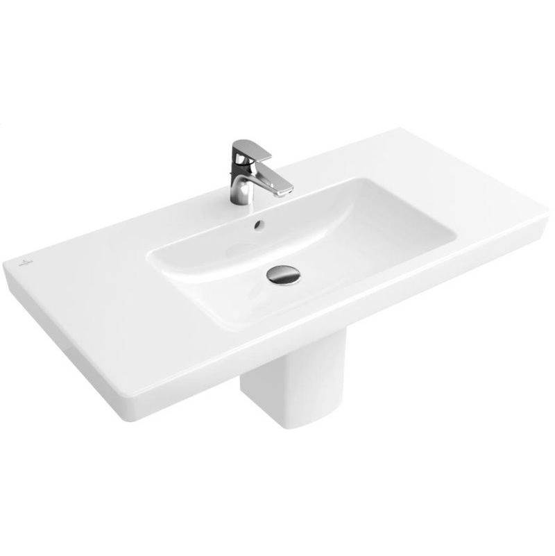 Villeroy And Boch Subway Vanity washbasin 31 1/2'' x 18 1/2'' (800 x 470 mm)