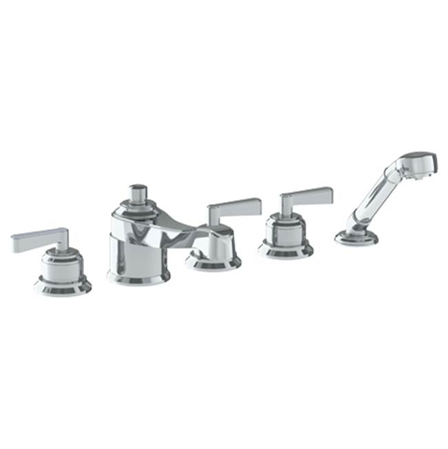 Watermark Deck Mounted 5 Hole Bath Set