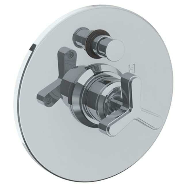 Watermark Wall Mounted Pressure Balance Shower Trim with Diverter, 7'' dia.